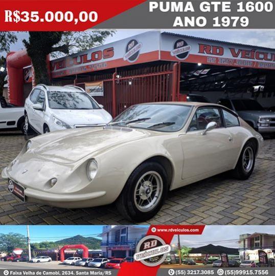 Puma - PUMA - GTE 1600 - 1979
