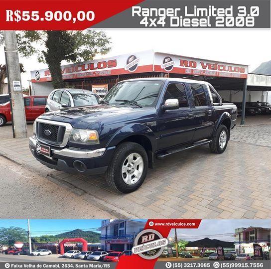 Ford - FORD RANGER - CD LIMITED 3.0 - 2008
