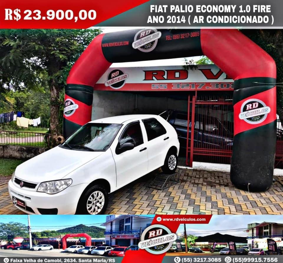 Fiat - PALIO - ECONOMY 1.0 FIRE - 2014