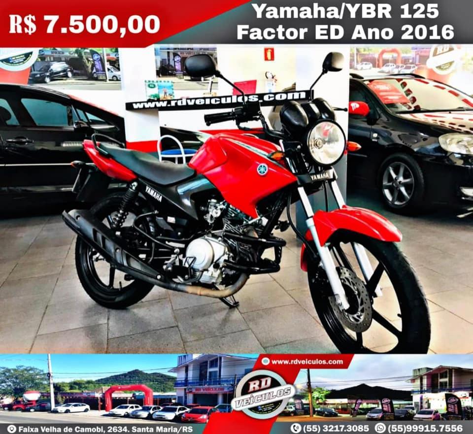 Yamaha - YBR - 125 FACTOR ED - 2016