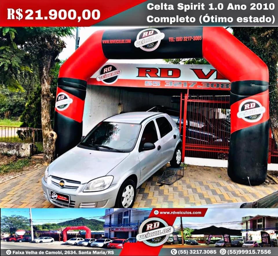 Chevrolet - CELTA  - 4P SPIRIT - 2010