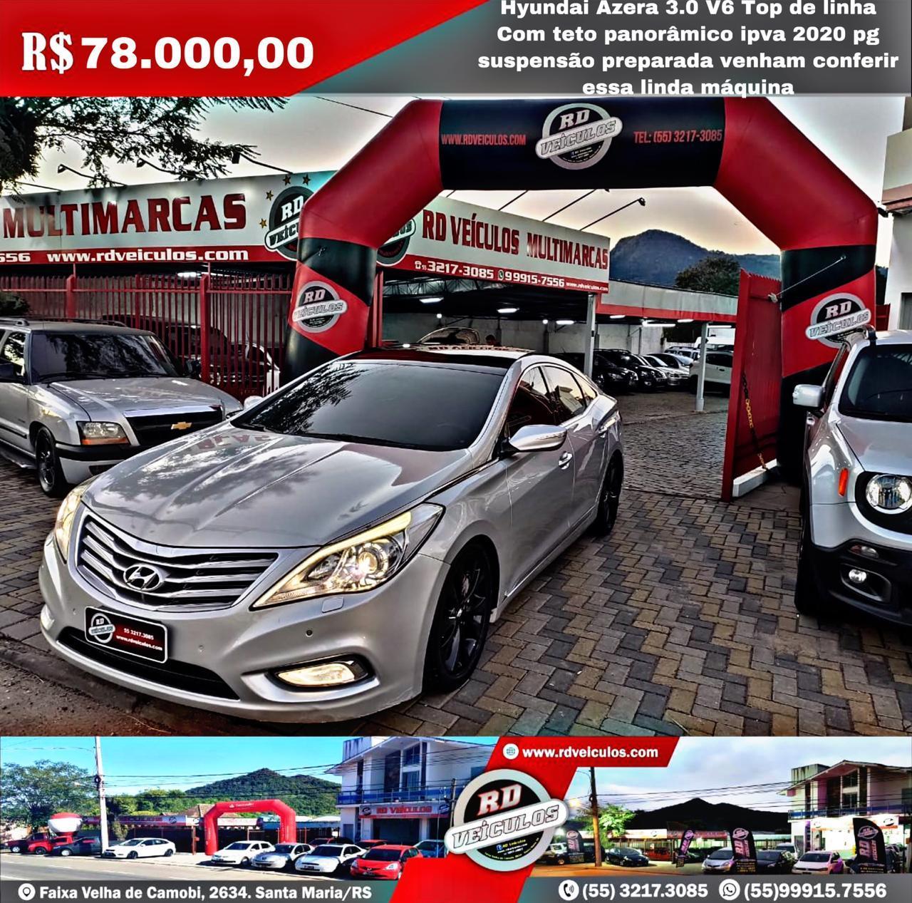 Hyundai - AZERA  - V6 3.0 - 2012
