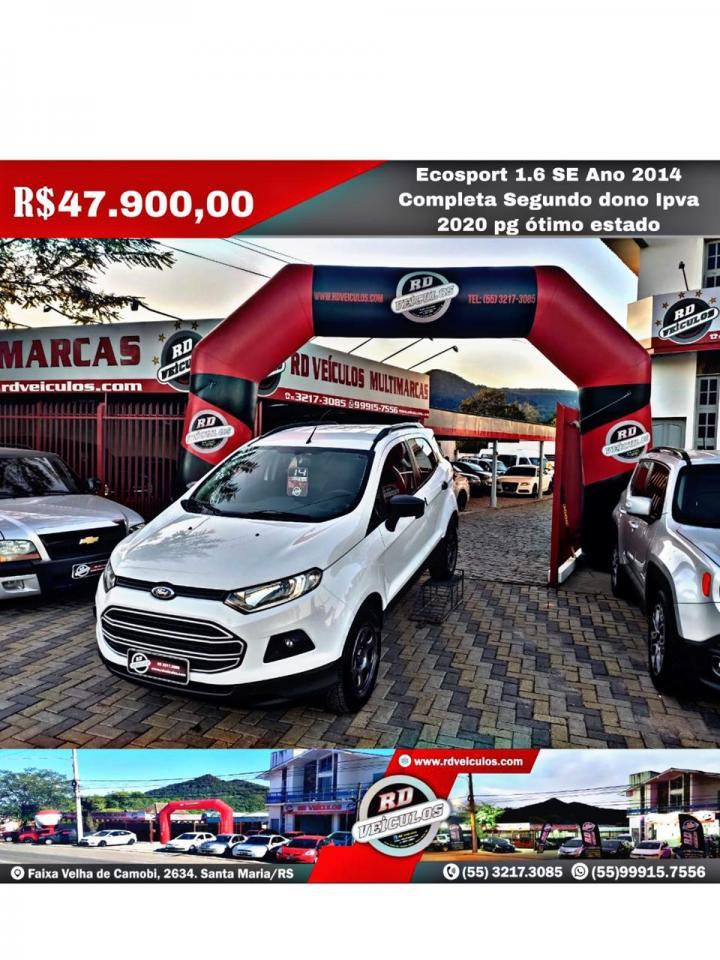 Ford - ECOSPORT - SE 1.6 16V FLEXPOWER - 2014